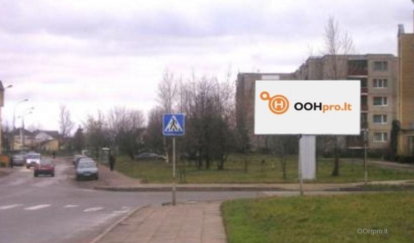 Laisvas lauko reklamos plotas Kniaudiškių g. / Žvaigždžių g., Panevėžys
