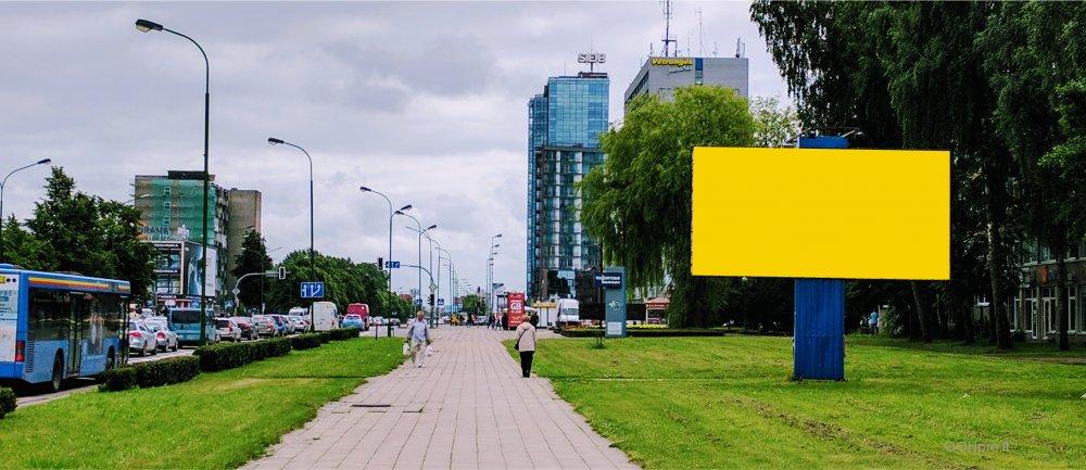 Laisvas lauko reklamos plotas Taikos pr. 24, šiaurinė pusė, Klaipėda
