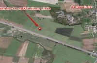 Lauko reklamos plotas: SA-A1V-128, 71 km nuo Vilniaus, A1 Vilnius-Kaunas automagistralė