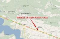 Lauko reklamos plotas: SA-A1V-137, 73 km nuo Vilniaus, A1 Vilnius-Kaunas automagistralė