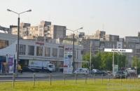 Lauko reklamos plotas: TG-M5-165, Laisvės pr. – Viršuliškių g., Vilnius