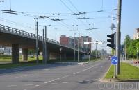 Lauko reklamos plotas: TG-M5-168, Laisvės pr. – Narbuto g., Vilnius