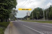 Lauko reklamos plotas: TG-M5-170, Laisvės pr. - Architektų g., Vilnius