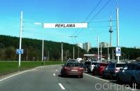 Lauko reklamos plotas: TG-M5-172, Laisvės pr. Lazdynų tiltas, Vilnius