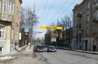 Lauko reklamos plotas: TG-M5-181, V.Kudirkos g. – M.K. Čiurlionio g. , Vilnius