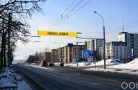 Lauko reklamos plotas: TG-M5-190, Žirmūnų g. – Lukšio g., Vilnius
