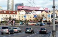 Lauko reklamos plotas: TG-M5-197, Kalvarijų g. nuo Žaliojo tilto pusės, Vilnius