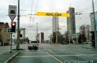 Lauko reklamos plotas: TG-M5-203, Šeimyniškių g. ties Kalvarijų g., Vilnius