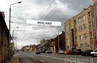 Lauko reklamos plotas: TG-M5-207, Kauno g.–Algirdo g., Vilnius