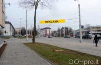 Lauko reklamos plotas: TG-M5-211, Kauno g.–Naugarduko g., Vilnius