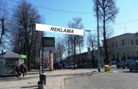 Lauko reklamos plotas: TG-M5-213, Geležinkelio g. ties stotimi, Vilnius