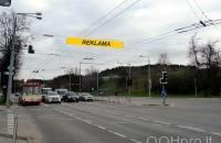Lauko reklamos plotas: TG-M5-217, Savanorių pr. – Naujoji Riovonių g., Vilnius