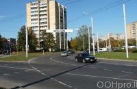 Lauko reklamos plotas: TG-M5-233, Žirmūnų žiedas ties Šeimyniškių g., Vilnius