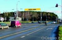 Lauko reklamos plotas: TG-M5-247, Rygos g.–Laisvės pr., Vilnius