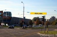 Lauko reklamos plotas: TG-M5-248, Rygos g.–Laisvės pr., Vilnius