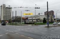 Lauko reklamos plotas: TG-M5-249, Laisvės pr.–Justiniškių g., Vilnius