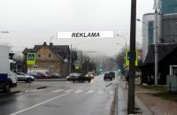 Lauko reklamos plotas: TG-M5-254, Sėlių g.–Kęstučio g., Vilnius