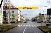 Lauko reklamos plotas: TG-M5-255, Liubarto g. ties Kęstučio g., Vilnius