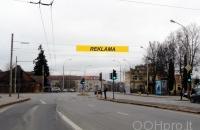 Lauko reklamos plotas: TG-M5-257, Liubarto g. prie Liubarto tilto, Vilnius