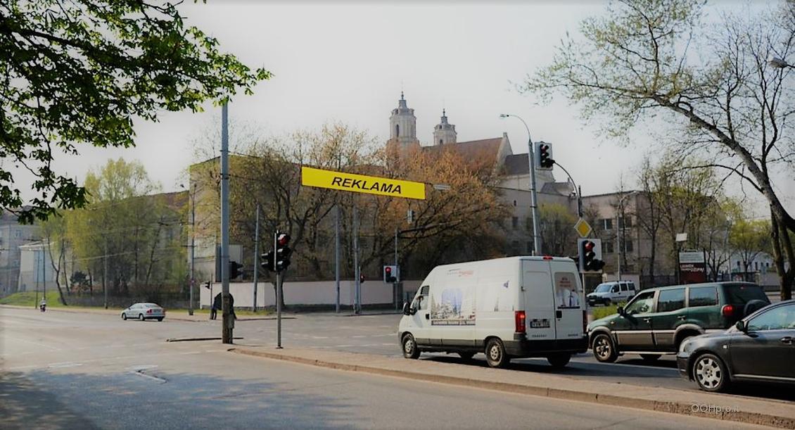 Reklaminiai tentai virš gatvių – efektyviai reklaminei kampanijai